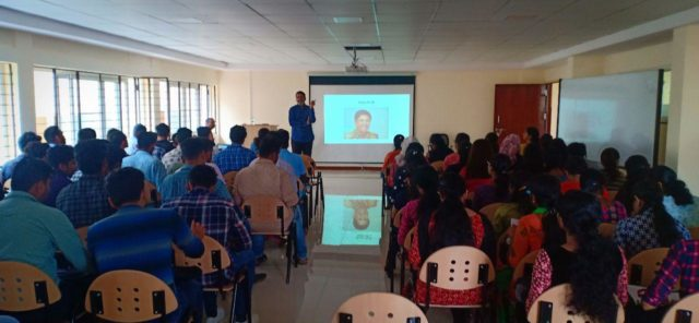 Induction training programme on Stress Management at JSS AHER