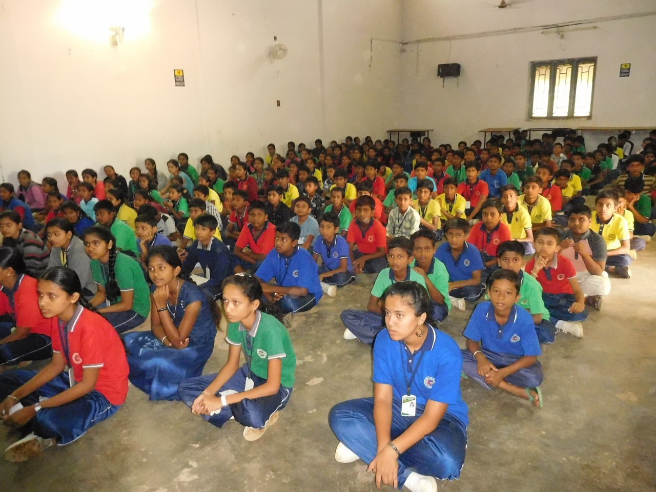 The inspirational event was conducted for the benefit of students to help them face challenges in life