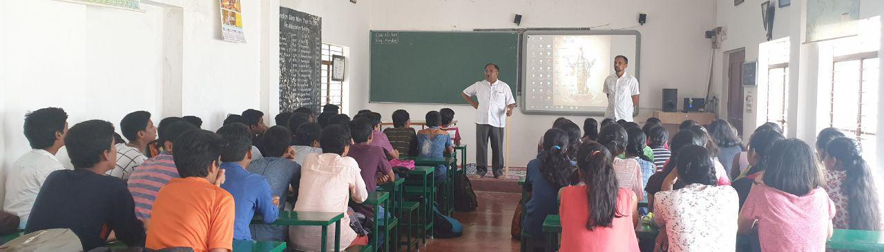 Leadership Awareness to School Students - Yogatma Srihari