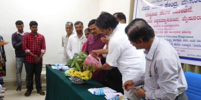 Lecture and Training Inauguration Ceremony at NSS BHAVAN, Mysuru