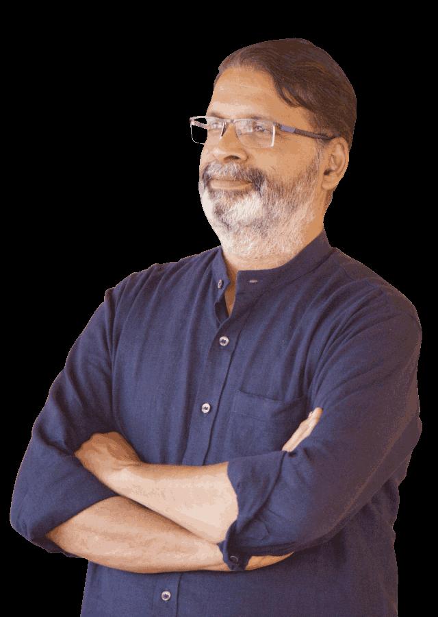 Yogatma Srihari a famous motivational speaker in Mysore