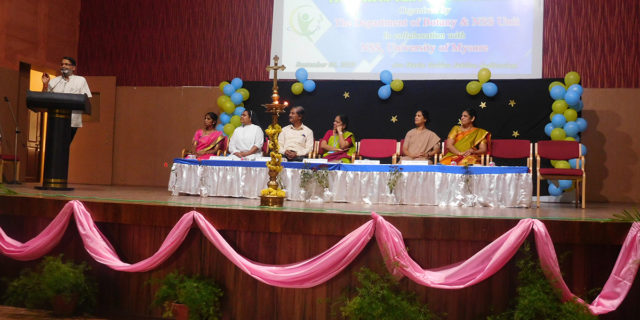 Inauguration of One Day State level workshop on Fitnessista through Naturalista